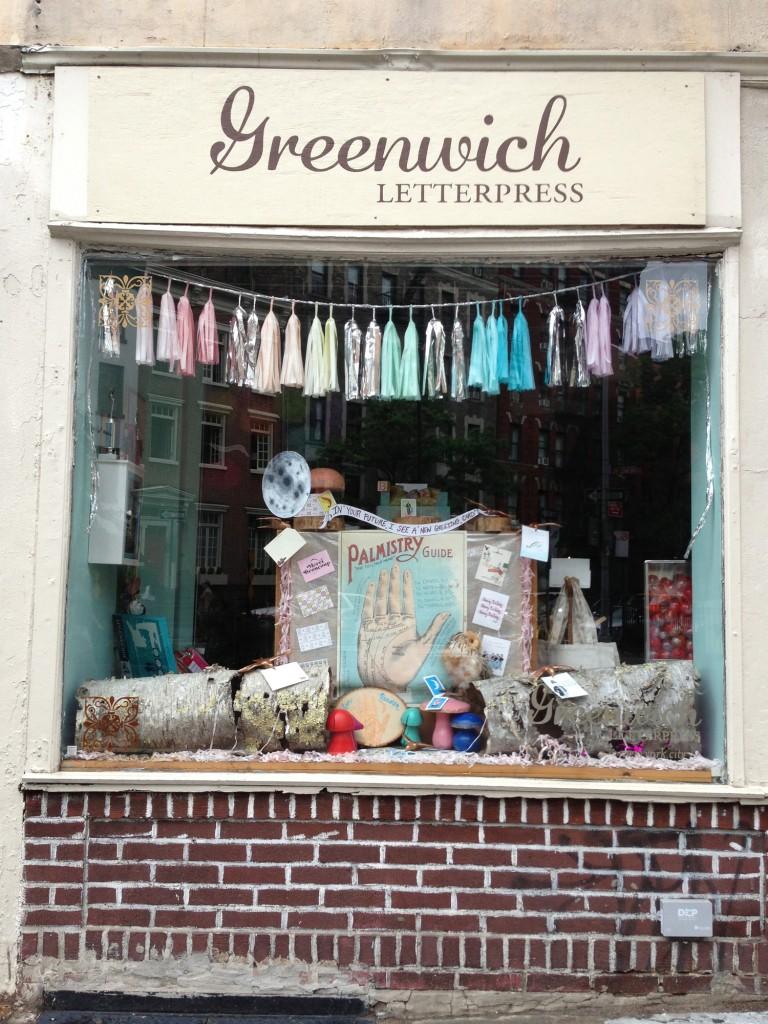 Greenwich Letterpress / Front